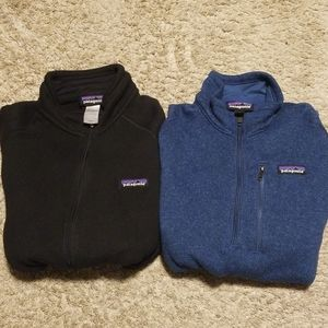 Patagonia Bundle Better Sweater Jackets Lot of 2